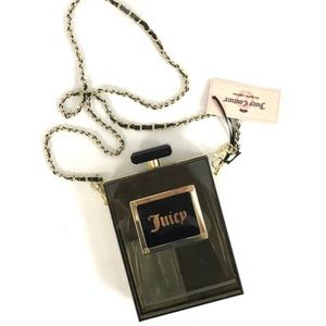 Juicy Couture Perfume Bottle Clutch